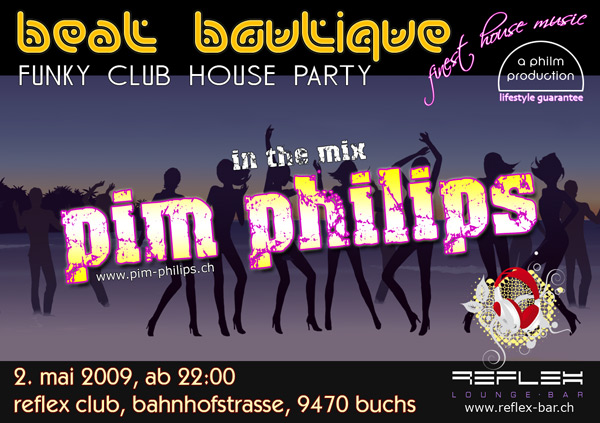 Pim philips for Funky house tunes